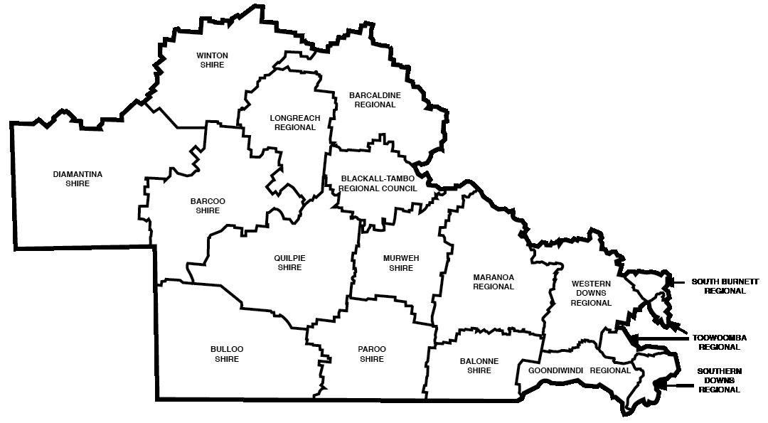 Maranoa Map